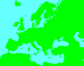 Craft0Video's Europe map