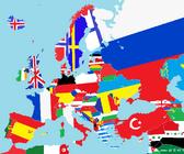 Blank map+europe