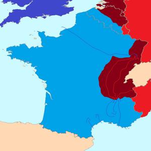 France campaing 1 Lyon 1 2 Alsace 3 Lyon 2