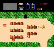 Zelda NES gameplay 1