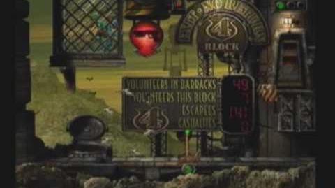 Oddworld Abe's Exoddus 23 *Slig Barracks*