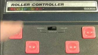 Classic Game Room reviews COLECOVISION ROLLER CONTROLLER