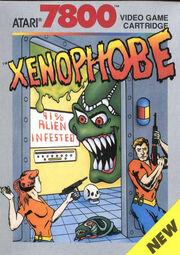 Xenophobe 7800 Box Art