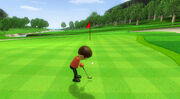 Wii Sports Golf Gameplay