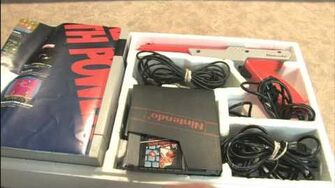 Classic Game Room HD - NES ACTION SET Unboxing Review