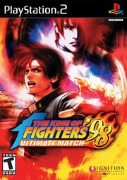 The King Of Fighters '98 Box Art
