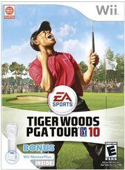 Tiger Woods PGA Tour 10 Box Art