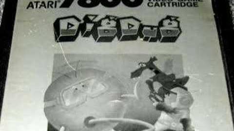 Classic Game Room - DIG DUG for Atari 7800 review
