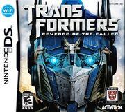 Transformers 2 DS Autobots Box Art
