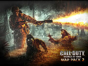 Call Of Duty - World At War Map Pack 2 Logo