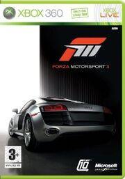 Forza Motorsport 3 Box Art