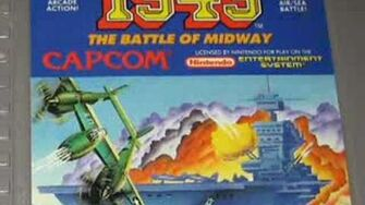 Classic Game Room - 1943 THE BATTLE OF MIDWAY review for NES
