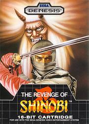 Revenge of Shinobi Box Art