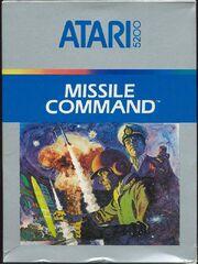Missile Command 5200 Box Art