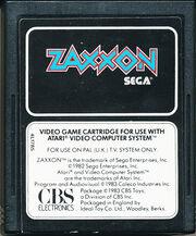 Zaxxon Atari 2600 Cart