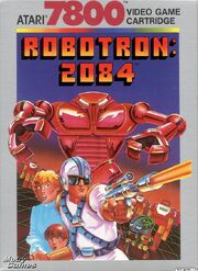 Robotron 2084 7800 Box Art