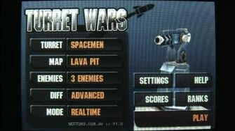 Classic Game Room HD - TURRET WARS for iPod review