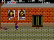 Double Dragon Master System Gameplay