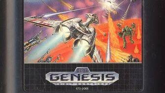 Classic Game Room - GALAXY FORCE II review for Sega Genesis
