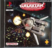 Galaxian PS1 Box Art