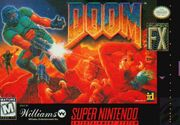 DOOM SNES Box Art