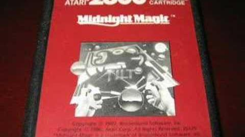 Classic Game Room - MIDNIGHT MAGIC review for Atari 2600
