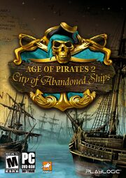 Age Of Pirates 2 - City Of Abandoned Ships Box Art