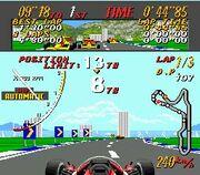 Super Monaco GP Genesis Gameplay