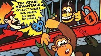 Classic Game Room HD - DONKEY KONG JUNIOR for Atari 7800