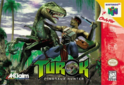 Turok Dinosaur Hunter Box Art