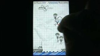 Classic Game Room HD - PARACHUTE PANIC for iPod review