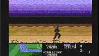 Classic Game Room reviews NINJA GOLF for Atari 7800
