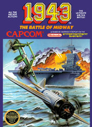 1943 Battle of Midway Box Art