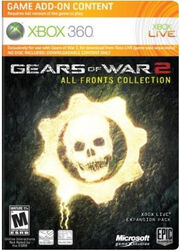 Gears Of War 2 All Fronts Collection Box Art