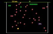 Centipede Atari 7800 Gameplay