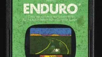 Classic Game Room - ENDURO review for Atari 2600
