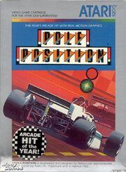 Pole Position 5200 Box Art