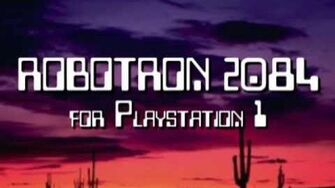 Classic Game Room - ROBOTRON 2084 review for PlayStation