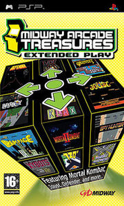 Midway Arcade Treasures Extended Play Box Art