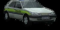 1993 Peugeot 306 Série 1 police