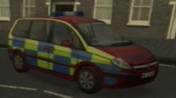 Police citroen C8