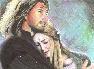 Faramir and eowyn 3