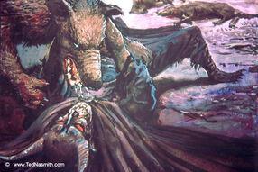 Sauron and Huan