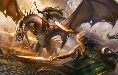 Eowyn and Witch king