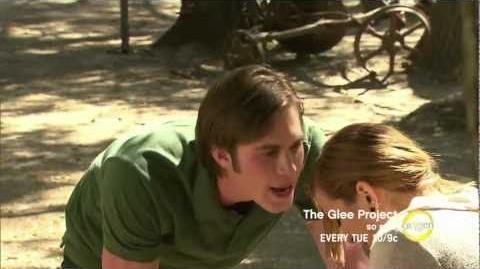 Blake gets in Aylin's face on The Glee Project