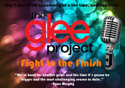 The Glee Project - Fight to the Finish Logo Fixed
