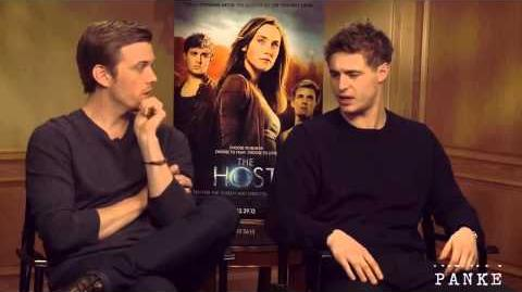 Max Irons & Jake Abel Good Life Best of interviews part 1-0