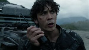The 100 4x06 - Bellamy