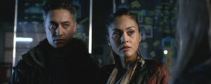 The-100-season-3-episode-12(Demons) -Raven &Sinclair