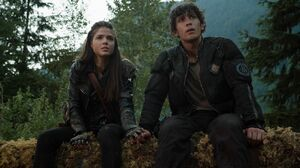 The100 S3 Ye Who Enter Here Octavia & Bellamy